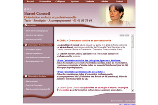 Orientation Scolaire Professionelle - Tests Bilans Conseils - Barret-orientation.fr