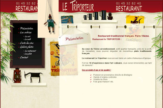 Restaurant-letriporteur.fr - Restaurant traditionnel Paris 15 ème (75015)