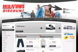 Dressnsports-discount.fr - Magasin vêtements sport et sportswear discount