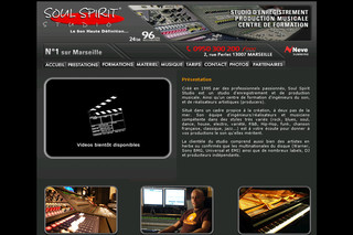 Soul Spirit Studio - Studio d'enregistrement et de production musicale - Soulspiritstudio.com