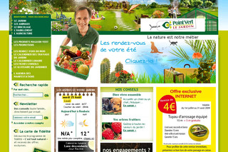 Magasin-point-vert.fr - Jardinerie