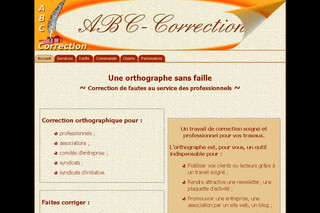 Service de correction orthographique - Abc-correction.fr