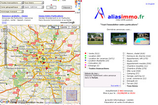 Immobilier entre particuliers - Aliasimmo.fr