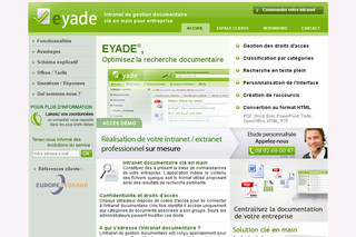 Eyade.com - Intranet documentaire