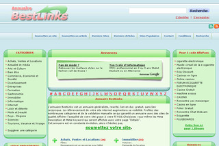 Annuaire BestLinks  sur Referencement.natharcade.com