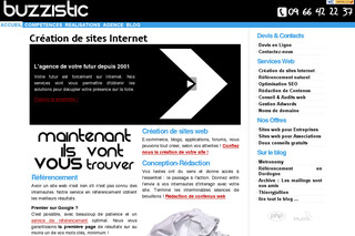 Création de sites Internet par Buzzistic