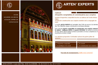 Arten-experts.fr - Cabinet Experts Comptables Commissaires aux Comptes