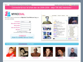 Rencontre Gay avec Chat.mykodial.com