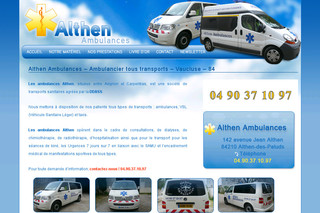 Ambulances, VSL, transport sanitaire, Vaucluse, 83 | Vaucluse-ambulances.fr