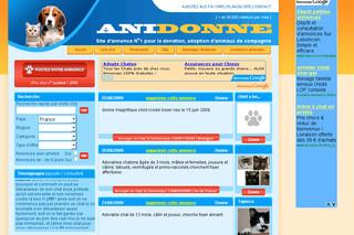 anidonne site d 39 annonce d 39 animaux de compagnie. Black Bedroom Furniture Sets. Home Design Ideas