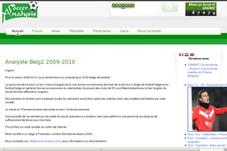 Analyse du foot avec Soccer-analysis.com