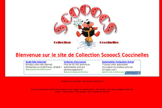 Collection de Coccinelles avec Coccinelles.e-monsite.com