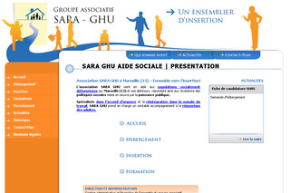 Groupe SARA/GHU Insertion professionnelle - Sara-ghu.org