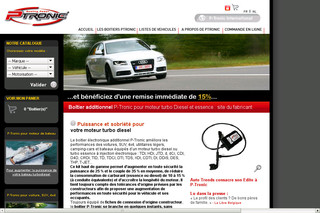 Boitier additionnel Audi/Mercedes de P-Tronic