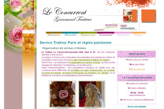 Concurrent Gourmand Traiteur Paris Hauts de Seine 92 - Leconcurrent-gourmand.com