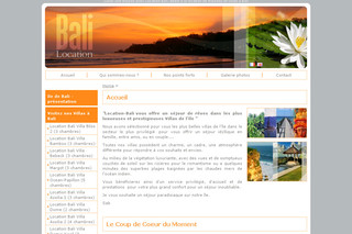 Location de villas à Bali - Location-bali.com