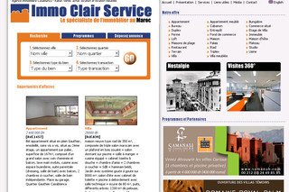 Immo Clair Service Casablanca Agence Immobilière - Immoservice.ma