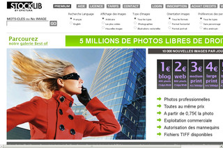 Banque de photos libres de droits Stocklib - La photo pro à 1 euro