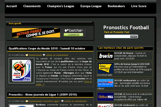 Pronostic foot - Pronostics-football.net