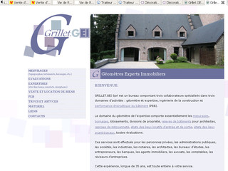 Grillet.GEI : Mesurages, évaluations, expertises du bâtiment - Grillet.be