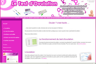 Le Test d'Ovulation - Test-ovulation-guide.com