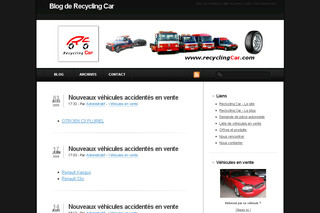 Blog de Recycling Car