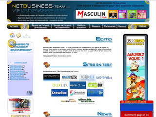 Argent sur Internet - Netbusiness-team.com