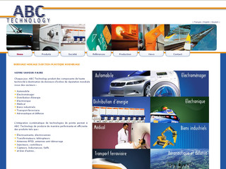 ABC Technology : bobinage, injection plastique, surmoulage