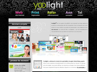 Creation web - Yoolight - Loire 42