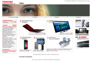 Toshiba.fr - Copieur, photocopieur, imprimante multifonctions Toshiba