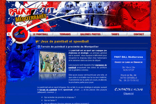 Centre de Paintball, Terrains, Jeux Speed Ball Montpellier - Paintball-mediterranee.fr