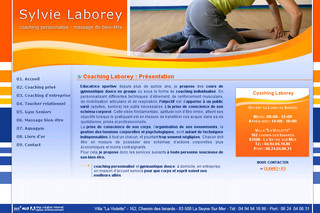 Coaching-laborey.com - Cours de gymnastique douce ou aquagym