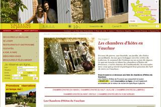 Chambres d 39 h tes du vaucluse provence - Chambre d agriculture du vaucluse ...