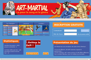 Art-Martial - Jeu de rôle - Art-martial.fr