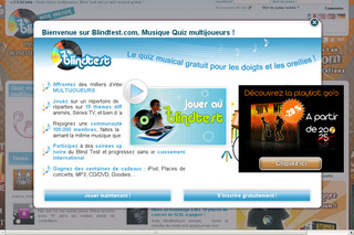 Blind Test, quizz musical multijoueur - Blindtest.com