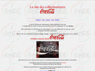 Club-coca-france.fr - Collectionneurs d'objets coca cola