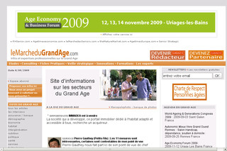 LeMarcheduGrandAge.com - Informations à destination des seniors