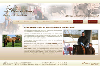 Guerreirostable.com - Pension de chevaux, quarter-horses reining 42