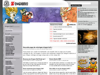 Dragon Ball Z - Zsoldiers.net