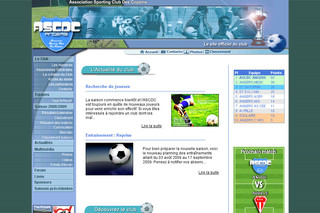 ASCDC football - Association Football Club Des Copains - Le site Officiel du club sporting à Angers