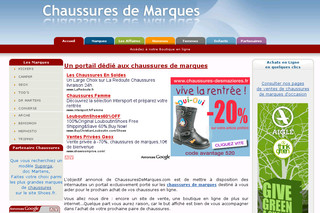 Chaussuresdemarques.com - Chaussures de marque