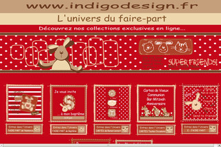 Indigodesign.fr - Faire-part