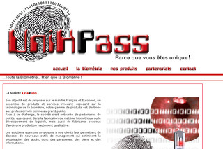 Unikpass Biométrie