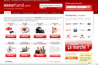 Assurland, le comparateur d'assurances
