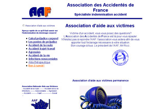 Association-aide-victimes.fr - Aide aux victimes des accidentés de France
