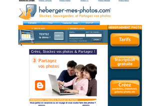 Hébergement d'images sur Internet : heberger-mes-photos.com