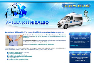 Ambulance Marseille, Provence, transport sanitaire - Ambulanceshidalgo.fr