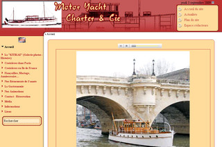 Myca.fr - Location de péniche à Paris