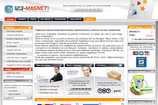 Fabrication de magnet publicitaire, faire part, magnet voiture, photo, carte de visite - 123-magnet.com