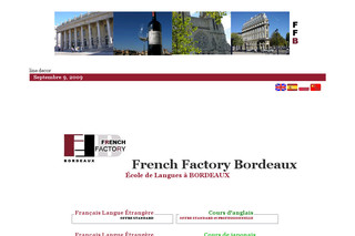 French Factory Bordeaux - Ecole de Langues - Ffbordeaux.fr
